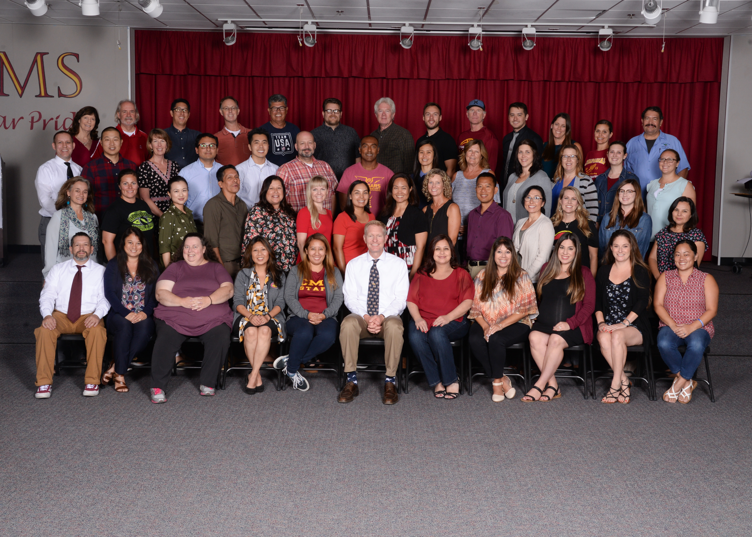 Caparral Middle School Staff